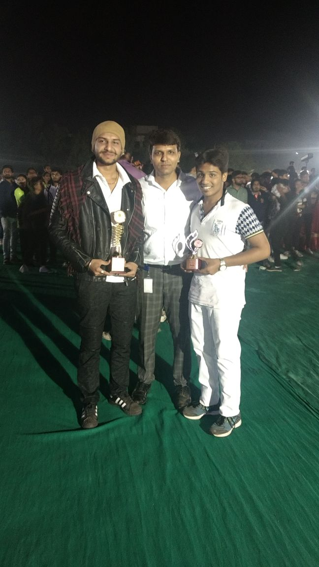 Best singing and costume at Spandan, an annual event of BMEF