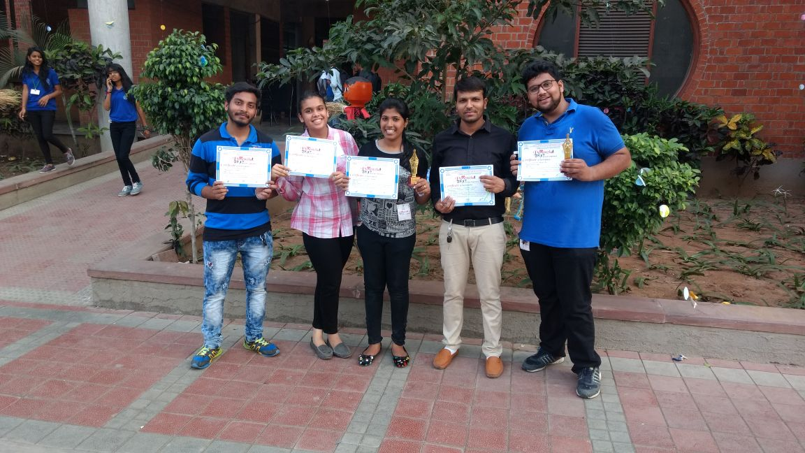 BMBBA team of winners at Ambaba college, Surat